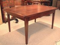 French draw dining table Normandy France