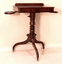 Antique Mahogany English Writing Table