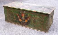 Antique European Folk Art Blanket Chest c1800