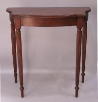 George W Fifield handmade mahogany Federal side table c1930