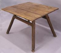 Period Country French tax collectors table c1800