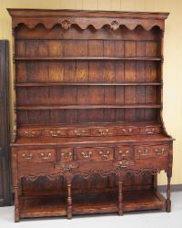 English handmade George III style Elm Dresser