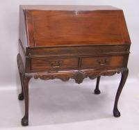 English Chinese Chippendale drop front desk c1840 to 1860