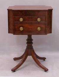 American Federal work table bible stand c1822 Joel Curtis