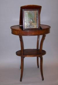 French Beau Brummel vanity with mirror c1820