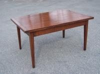 Handmade French country cherry draw dining table