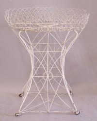 French Victorian wire plant stand c1880
