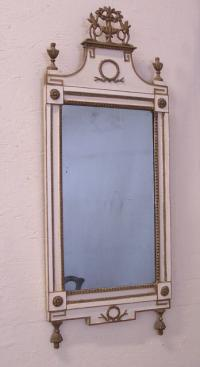 Balboa mirror from Salem Mass c1800