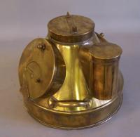 Antique Brass binnacle cover