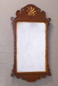 Period American Chippendale wall mirror c1790