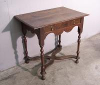 English William and Mary oak Lowboy c1800