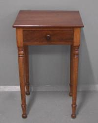 One drawer 19th century country night stand