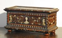 Late 16th century German friendship or marriage box