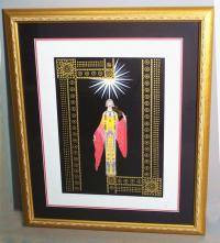 Erte La Princesse lithograph limited edition
