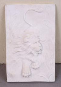 Marble Sculpture of a Lion O Connor SC