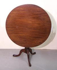 Tilt top Early American Bird Cage Tea Table