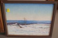Robert Strong Woodward landscape oil painting