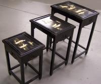 Set of 3 Chinese Stacking Tables
