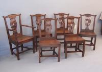 Early English Country Chippendale Dining Chairs c1720