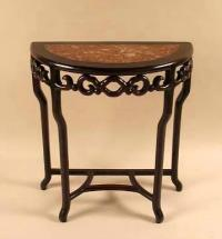 Chinese Demi Lune Console Table c1840