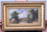 19th c.English School landscape painting c1850