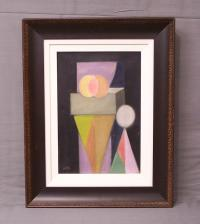 Benjamin Benno abstract composition oil painting c1935