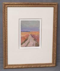 Yuri Ivanovich Tiamushkin oil painting Road in a Field c 1964