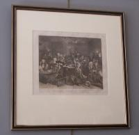 William Hogarth engraving plate Vl c1797