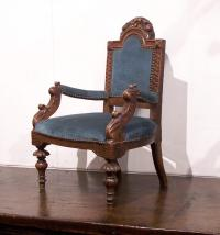 Early to mid 19th century French childs chair