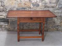 Early American country New England tavern table c 1780