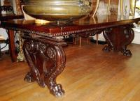 Early 17th century Italian walnut trestle table