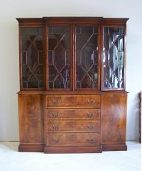 Vintage Beacon Hill butlers secretary in mahogany c1930