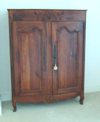 Two door country French Provincial cupboard c1800