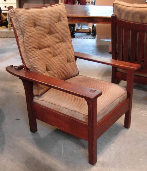 Early Arts And Crafts L J G Stickley Morris Chair
