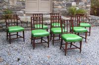 Williamsburg  American Federal dining chairs c1950