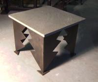 Cheryl Faber Smith Modern Art Sculpture end table
