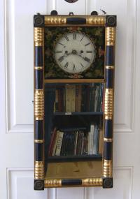 Timothy Chandler mirror clock Concord New Hampshire c1810