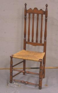 Early American bannister back chair