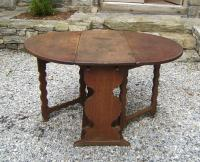 Dutch 17th century gate leg table