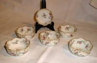 Antique Haviland Limoges porcelain berry bowls