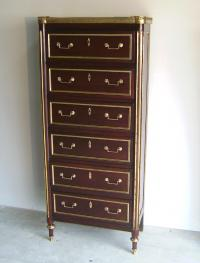 18th century French chiffonnier chest