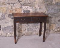 Vintage Eldred Wheeler Chippendale reproduction maple server with 2 drawers