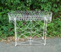 French Victorian wire plant stand c 1880