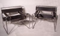 Pr Wassily chairs by Marcel Breuer for Knoll c1973