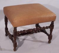 18th century English or Continental stool