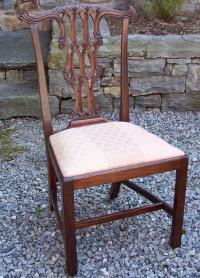 Period American Chippendale side chair  1770