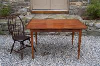 Country pumpkin pine hand made kitchen table