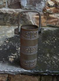 Chinese storage vessel with embossed handles c1900