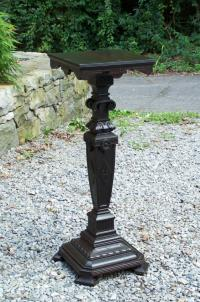 American Aesthetic Movement plant or sculpture pedestal c1885