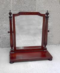 Mahogany dresser mirror by Saginaw Mirror Works c1913